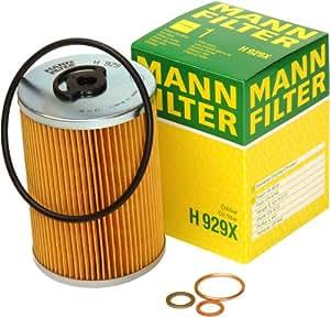 mann filter h929x lfilter auto. Black Bedroom Furniture Sets. Home Design Ideas