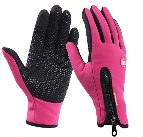 Hombre Mujer Guantes tactiles Guantes impermeables