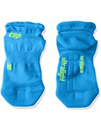 CEP Hombres ultraligero No Show calcetines, Unisex hombre, color Electric Blue/Green,