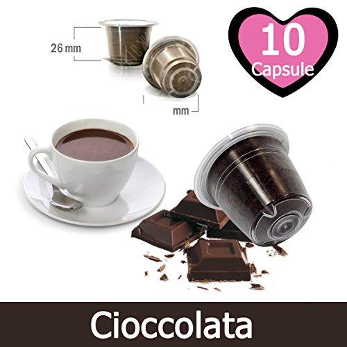10 Capsulas Chocolate Compatibles Nespresso - Café Kickkick
