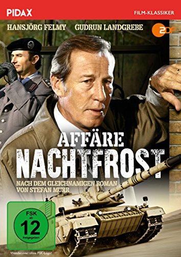 Affäre Nachtfrost / Packender Agententhriller mit Hansjörg Felmy und Gudrun Landgrebe nach dem gleichnamigen Bestseller (Pidax Film-Klassiker)