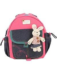 Preisvergleich für Tjhanhai Kinderrucksack Rucksack Kinder Schule Tasche Schultasche mit Kopfhörerkabelkanal Kleinkind Kindergarten...