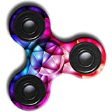Ouneed® Fidget Spinner Hand Spinner Spielzeug , Fidget Spinner multicolored rainbow Triangle Single Finger Focus Stress Reliever Perfect Toys