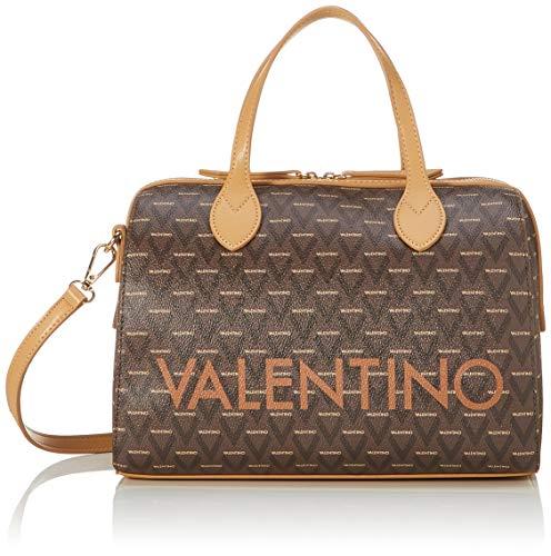 Valentino by Mario Liuto, Sacs bowling femme, Marron (Cuoio Multicolor), 17x22x30.5 cm (B x H T)