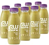 Nosh Detox 'The Raw Smoothie' - 8 x 250ml 'Revitalise & Rejuvenate' Spirulina, Apple & Mint Sugar Free Smoothie Detox Drink to help Weight Loss. Awarded Silver Place - Healthy Food & Drinks Awards 2015 from Nosh Detox