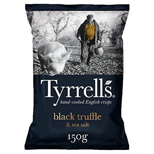 Tyrrells Schwarze Trüffel & Meersalz 150G