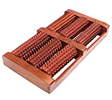 #7: SKAVIJ Wooden Roller Foot Massager for Body Stress Acupressure Feet Massager