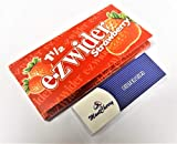 berühmten e-zwider Marke 1–1/2Größe sauber brennende Geschmack Zigarette Papier in 'Erdbeere' Geschmack–6Heftchen