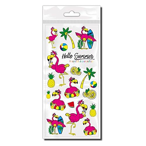 style4Bike Flamingo Fahrradaufkleber Pink - Flamingos Sticker - Trend ()