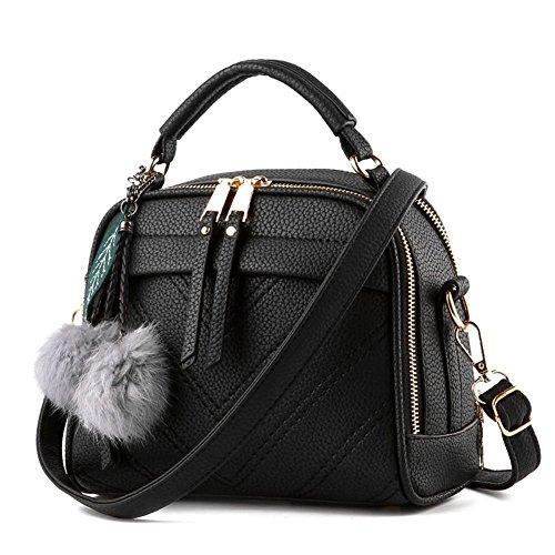 Damen Handtasche Klein Umhängetasche Schultertaschen Leder Taschen Henkeltasche Shopper (Kleine Schulter-handtasche)