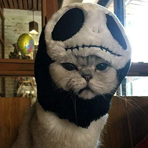 stume Halloween Pet Headgear Cute Pet Hat Christmas Fancy Dress Up Puppy Doggy Kitten Headband Hat (Skeleton) ()