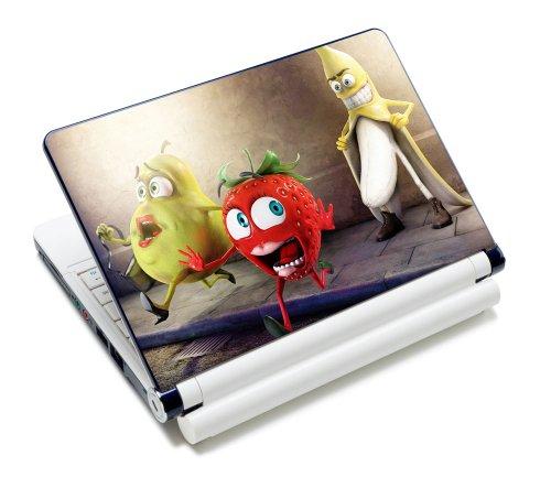 Luxburg® Design Aufkleber Schutzfolie Skin Sticker für Notebook Laptop 13 / 14 / 15 Zoll, Motiv: Oh my God Banane