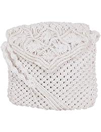Saman Girls' Sling Bag (White, 10)
