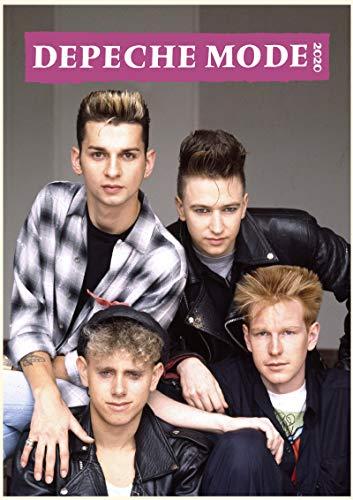 WallKalender 2020 [12 blatt 20x30cm] Depeche Mode Vintage Retro Photo Poster Plakat Electronic Musik (Mode Kalender)