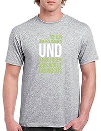 Top Basic Print-Shirt 100/% Baumwolle Anker Jungen T-Shirt Rundhals Comedy Shirts OSTSEE