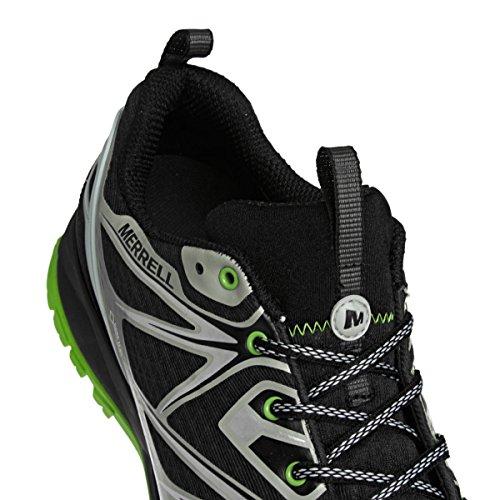 Merrell Capra Bolt Gore-Tex, Chaussures de Randonnée Basses Homme, Noir, 41 EU noir
