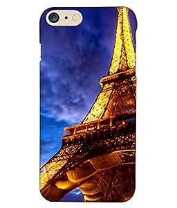 Crazymonk Premium Digital Printed 3D Back Cover For Apple I Phone 7 Plus