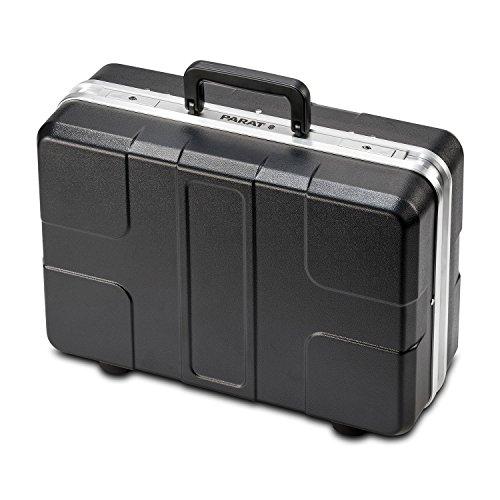Parat 485.025-171 Werkzeugkoffer mit CP-7 Stecksystem und Einsteckfächern schwarz (Ohne Inhalt)
