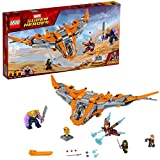 LEGO 76107 Marvel Avengers Thanos Ultimate Battle Playset, The Guardians Ship, Iron Man, Star-Lord, Gamora and Thanos Action Figures, Superhero Toys for Kids