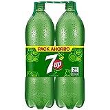 7 UP refresco de Extractos con Aromas Naturales de Lima y Limón - Paquete de 2 x 2 l - Total: 4000 ml