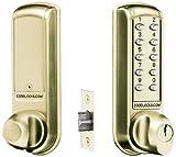 Codelocks - Cerradura electrónica empotrable con teclado y llave franqueadora