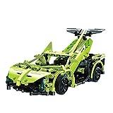 LXWM Modellbausätze Bauen Sie Ihr Eigenes Auto Mit Fernbedienung, Elektrosatz Spielzeug, 1: 14 2,4 Ghz Bausätze, Geschenkspielzeug Für 12 Jahre Alte Jungen, Grün