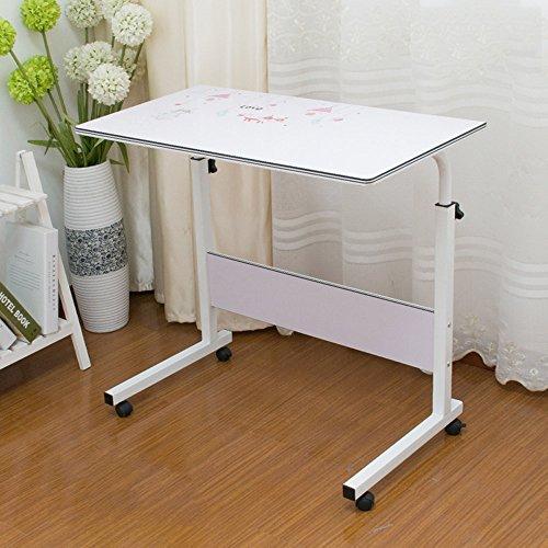 ZXQZ Table Pliante Bureau d'ordinateur Portable Simple Atterrissage avec des Tables paresseuses 13 Couleurs en Option 80 * 40cm Bureau Pliant (Couleur : # 6)