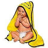 Borussia Dortmund Baby Kapuzenbadetuch / Badetuch / Duschtuch BVB 09