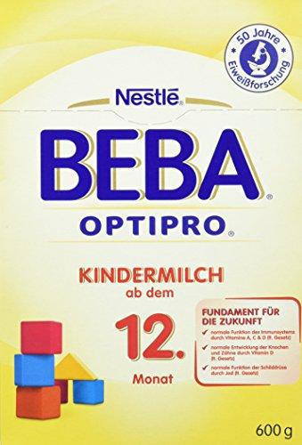 Beba Optipro Kindermilch ab dem 12. Monat, 6er Pack (6 x 600 g)