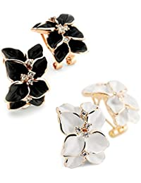 YouBella Fashion Jewellery Summer Special Crystal Stylish Fancy Party Wear Earrings for Girls and Women