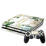 新型PS4 PRO プロ プレイステーション専用 スキンシール 裏表 全面セット カバー ケース 保護 フィルム ステッカー デコ アクセサリー 009646