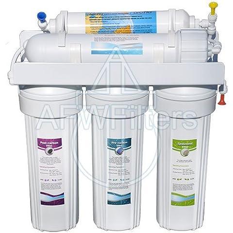 5-stage zoi Alpha Pure filtro dell' acqua a osmosi inversa 50GPD, rimuove fluoruro, piombo, Arsenico, e più da acqua potabile