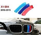 2009–2015BMW X1E84m Power m sport Tech Bonnet Hood Rene griglia Trim fibbia clip in inserti a righe strisce copertura Decor 3colori