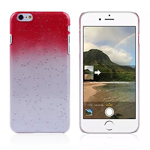 iPhone 6 / 6s shell Ultra Slim Raindrop Cristal Bling Case Rhinestone, iPhone 6 Case, 6s iPhone shell, jaune rouge