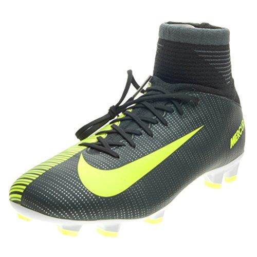 Nike Unisex-Kinder Mercurial Superfly V CR7 FG Fußballschuhe, Grün (Seaweed/White 376), 38 EU (Fußball-schuhe Superfly Cr7)