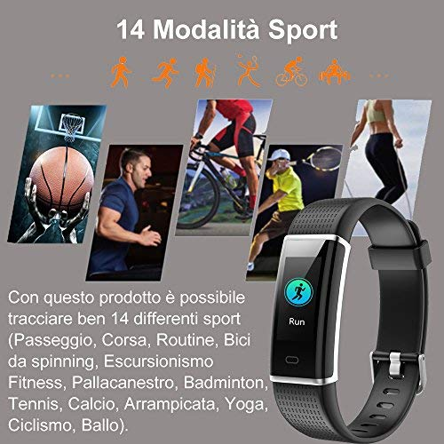 Zoom IMG-3 willful orologio fitness tracker smartwatch