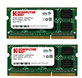 Komputerbay 8GB (2X4GB) DDR3 SODIMM (204 pin) mit Hynix Semiconductors 1066Mhz PC3 8500 für Apple 8 GB (7-7-7-20) gemacht