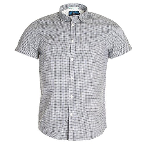 Scotch & Soda - Chemise casual - Avec col - Manches Courtes - Homme Combo B