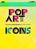 Pop Art Icons - Andy Warhol/Roy Lichtenstein/Claes Oldenburg [Alemania] [DVD]