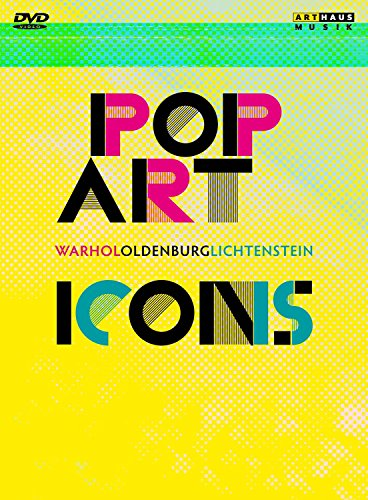 Pop Art Icons - Andy Warhol/Roy Lichtenstein/Claes Oldenburg [3 DVDs] Preisvergleich