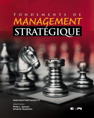 Fondements de management stratégique
