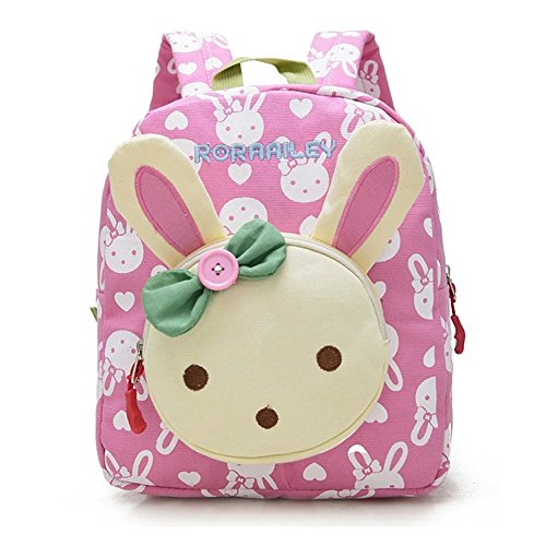 Flyingsky-Rabbit-Animals-Kids-Book-Backpack-Baby-Girls-School-Bag