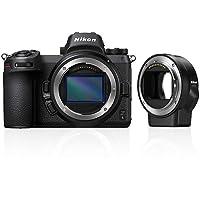 Nikon Z 6 Spiegellose Vollformat-Kamera mit Nikon FTZ-Adapter und 64 GB XQD-Speicherkarte (24,5 MP, 5 Achsen…