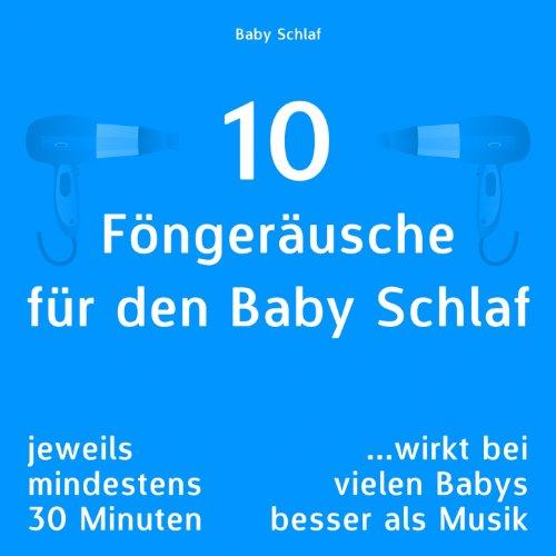 Fön Modell 7 mit stärkeren Windgeräuschen, nicht bewegt für den Baby Schlaf -