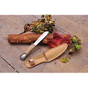 EDUPLAY 150087 – Kinderschnitzmesser mit Holzgriff