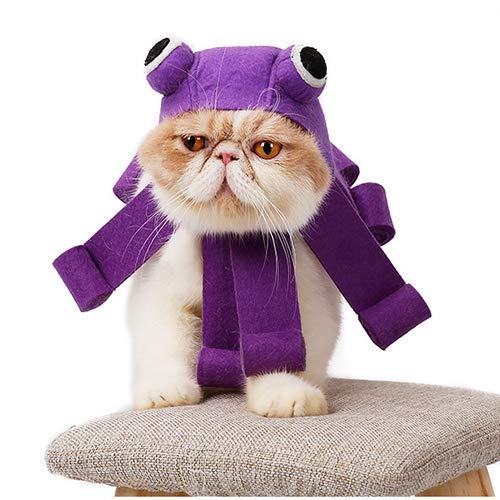 QNMM Halloween Katze Kopfbedeckung Kätzchen Weihnachten Kopfbedeckung Hut -