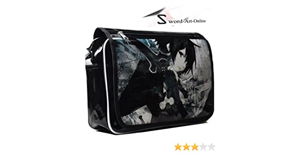 f88c0e6bcf01 Sword art online Kirito cosplay message bag shoulder bag URICK