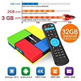 Aoxun Android TV Box T95K Pro Smart TV Box Amlogic S912 Octa Core CPU 64BIT Android 6.0 Marshmallow 3+32G Bluetooth 4.0 Dual WIFI Band 2.4G/5G and True 4K Playing (3+32G)