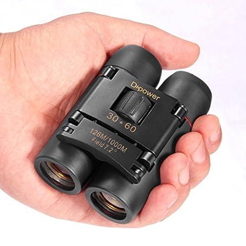 dreampower 30x 60Faltbar Fernglas Teleskop mit wenig Licht Nachtsicht für Outdoor Fauna, Reisen, Sightseeing, Jagd, etc.