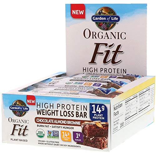 Garden of Life, Organic Fit, Protein-Gewichts-Verlust-Regel, Mandel-Schokoladenkuchen,